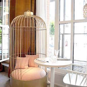 1 Fauteuil Cage - restaurant Mr Yack Rennes - anouchka potdevin