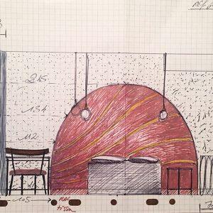 1 croquis 107 - hôtel Pommeraye - anouchka potdevin