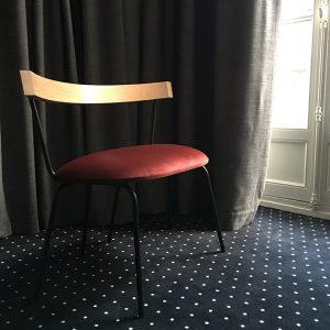 6 siège chambre 107 - hôtel Pommeraye Nantes - anouchka potdevin