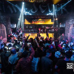 7 grandes Cages - club SLS foxtail Las Végas - anouchka potdevin