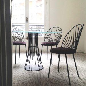 chaise Blush et table-bureaux CDL Paris-anouchka potdevin