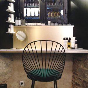 chaise Blush noire-Blush Rennes-anouchka potdevin