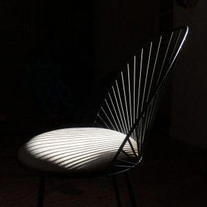 chaise Blush noire-anouchka potdevin