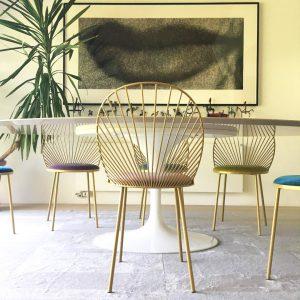 chaise Blush-résidence Genève-anouchka potdevin