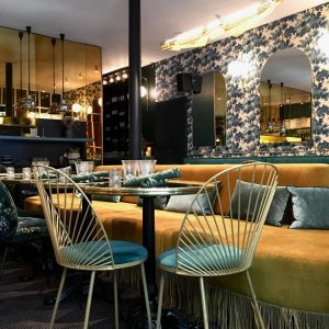 chaise Blush-restaurant Le Wok Rennes-anouchka potdevin