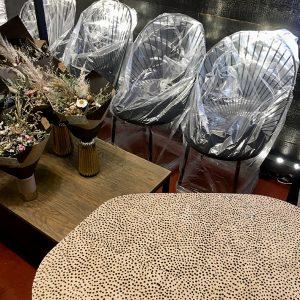table basse naturel dots - anouchka potdevin